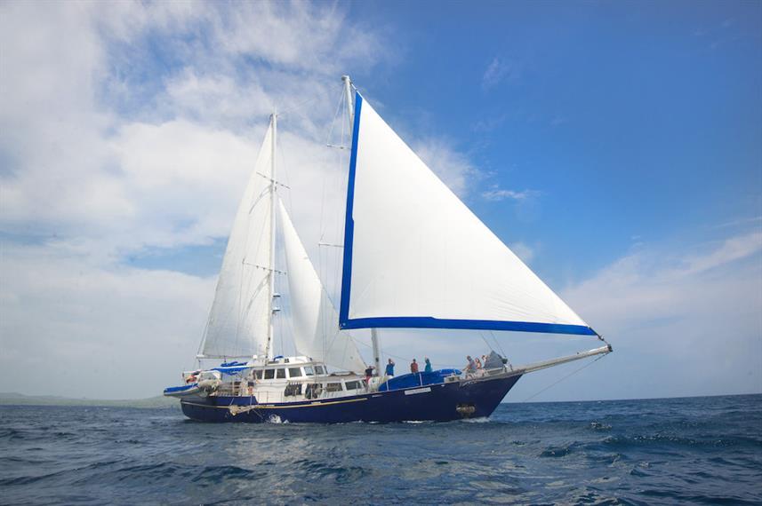The Beagle yacht galapagos